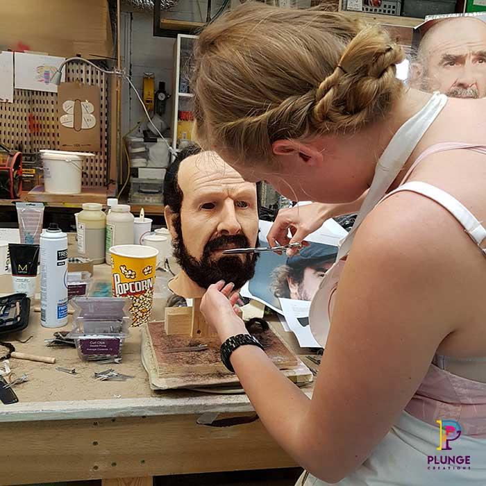 Realistic Sculpture Eric Cantona