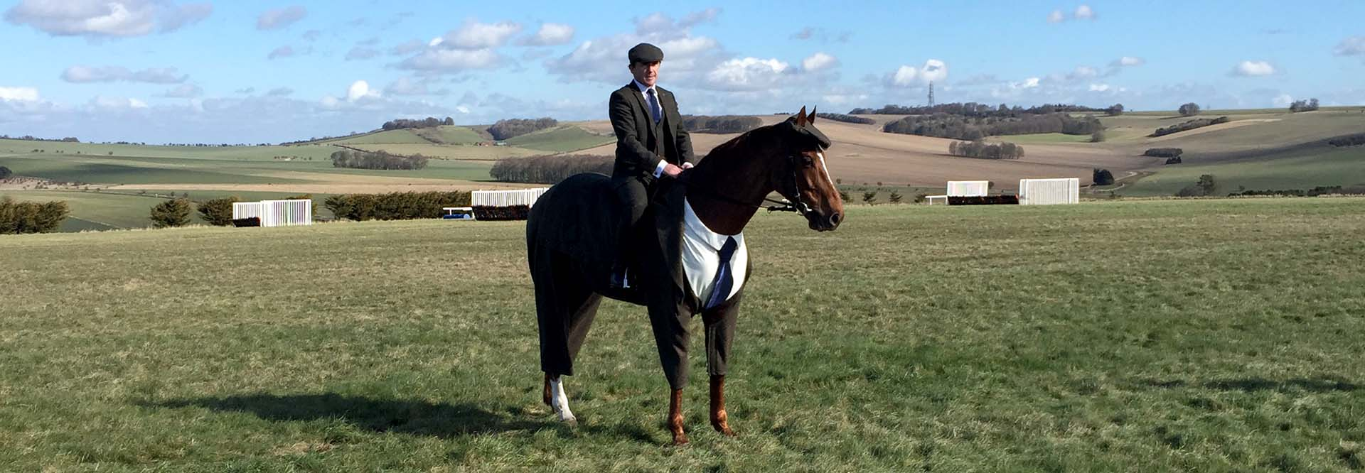 Horses Tweed Suit
