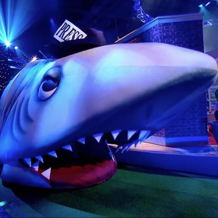 ITV Big Heads prop makers of giant shark prop