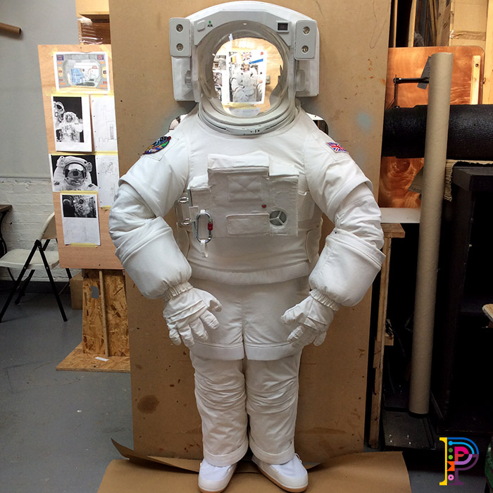 Astronaut for interactive display