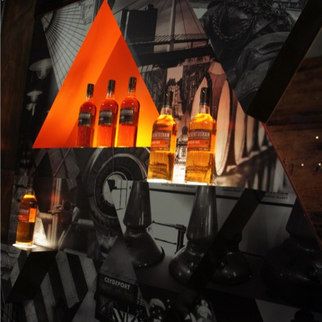 Auchentoshan Stand Display