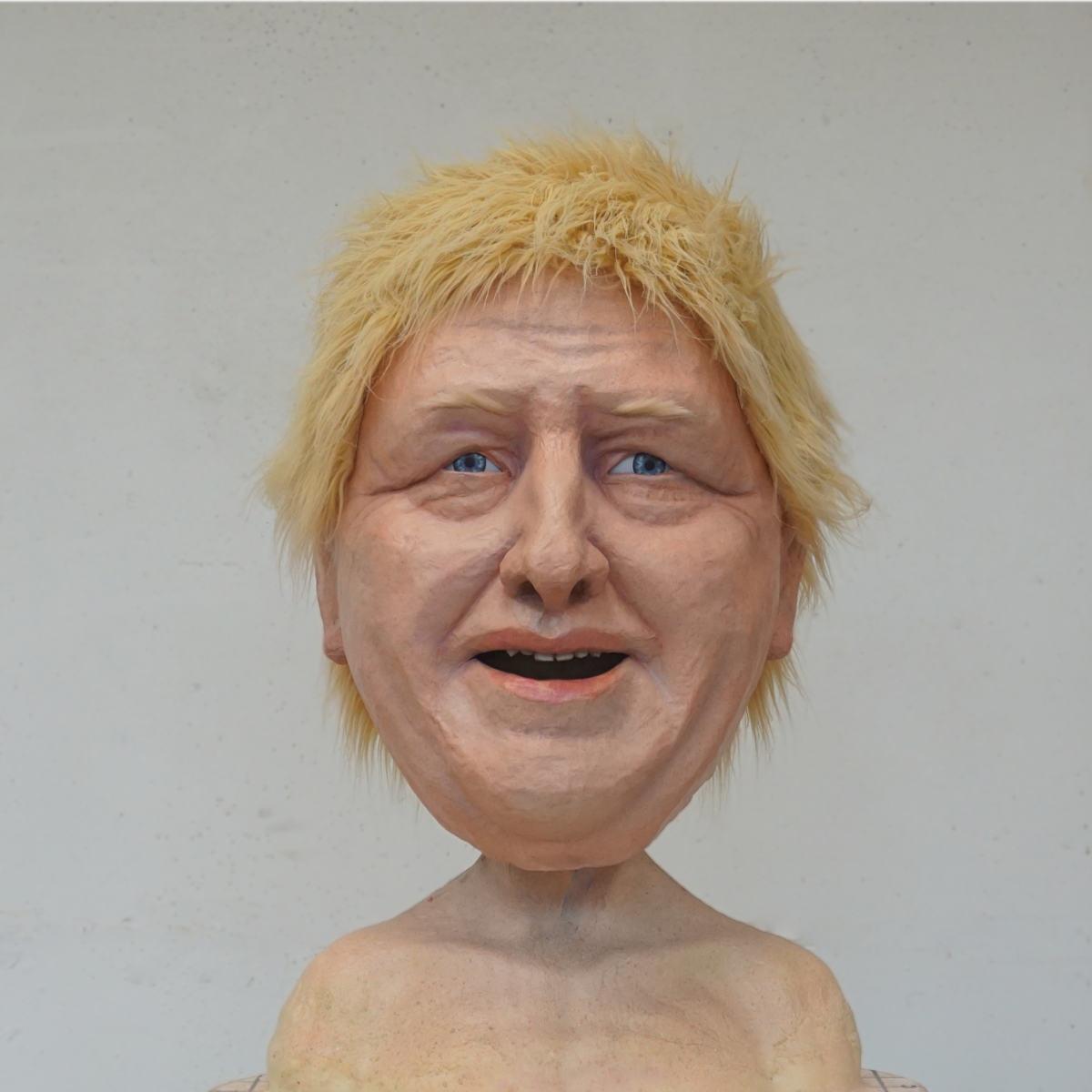 Greenpeace Boris Johnson Mask