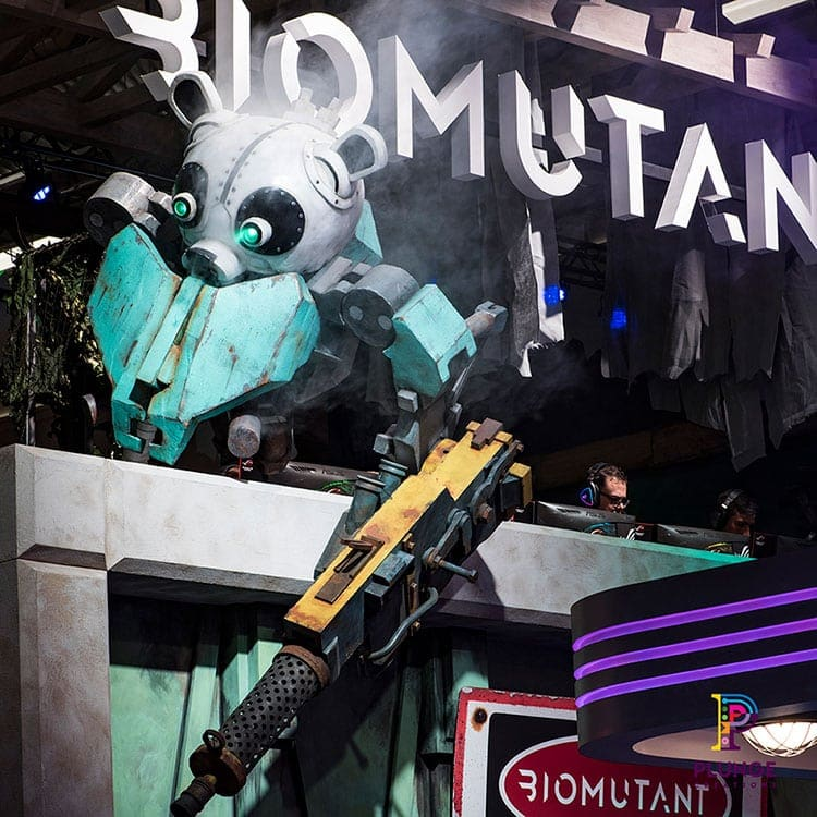 Biomutant at THQ Nordic Booth Gamescom 2019
