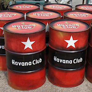 Branded Oil Drum Havana Club