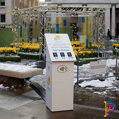 Charity Donation Contactless Terminals