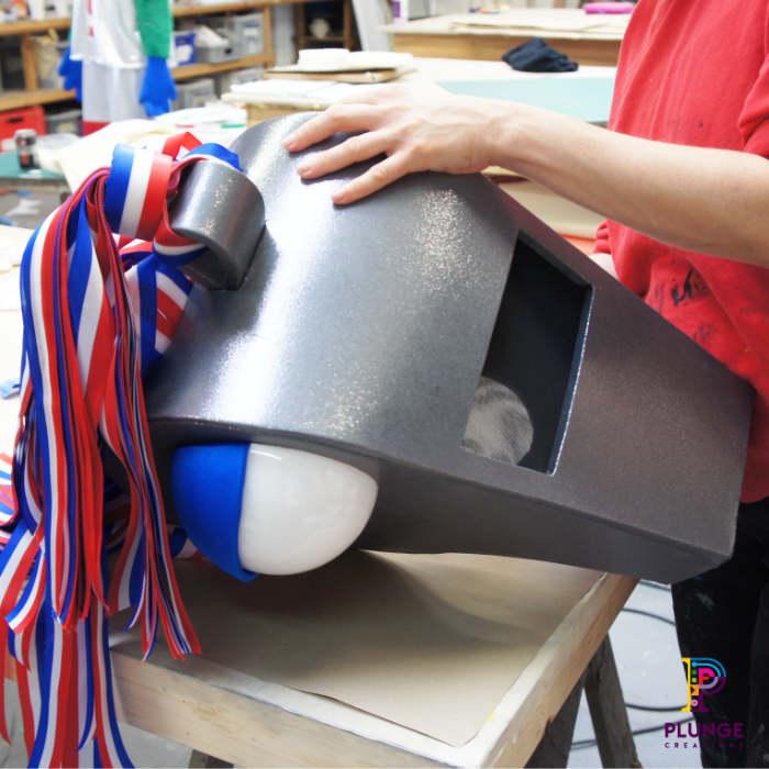 Costume Maker Masked Winger Soccer Aid Costume Maker