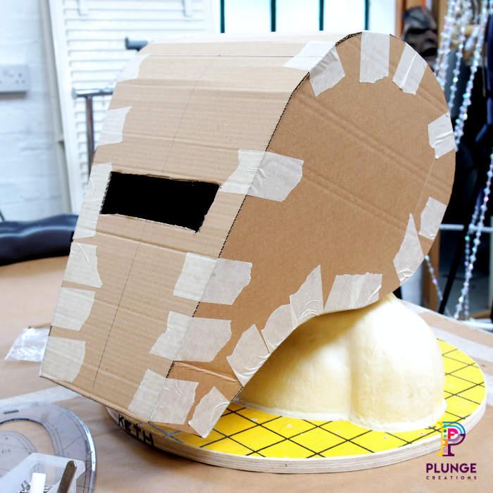 Costume Maker Masked Winger Soccer Aid Mascot Costume Maker Card