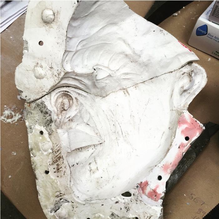 Derren Brown Mold Making