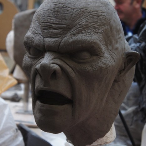 Derren Brown Thorpe Park Sculpture