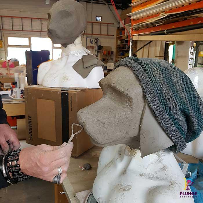 Dog Clay Sculpt