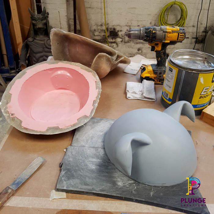 Fibreglass-DJ-helmet-mask