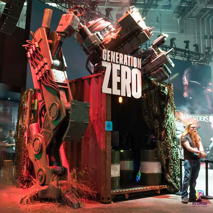 Generation Zero games conference booth