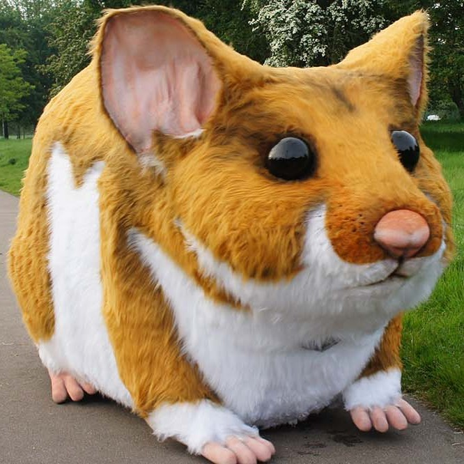 Kwik Fit Giant Hamster Prop