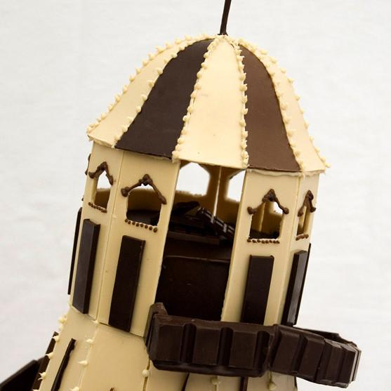 Chocolate Helter Skelter Sculpture