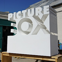 Giant 3D branded company logo
