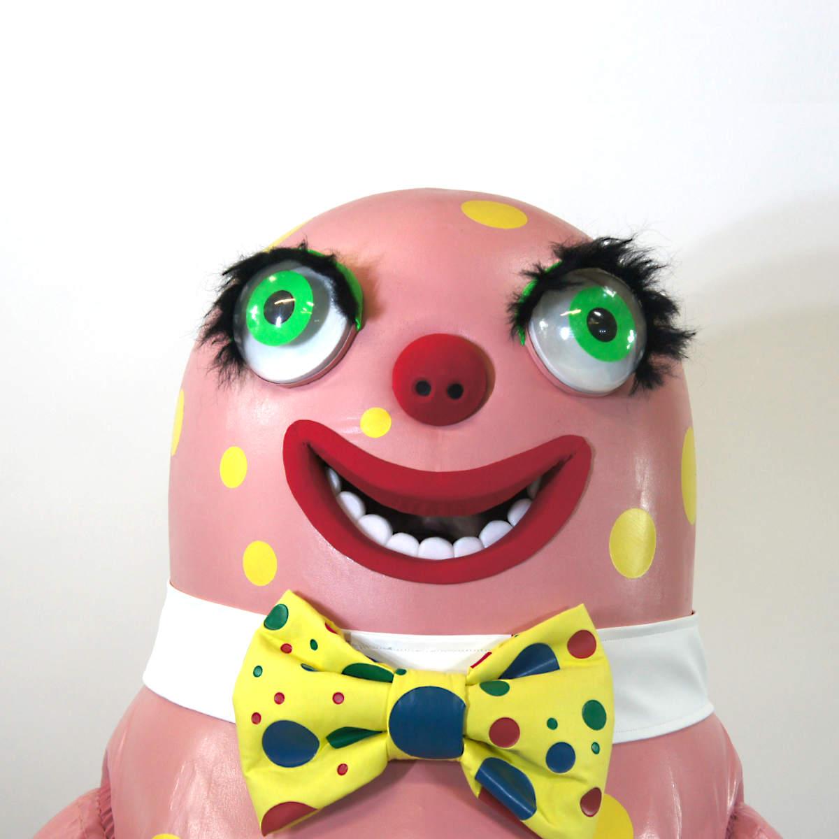 Mr Blobby Costume 90s icon