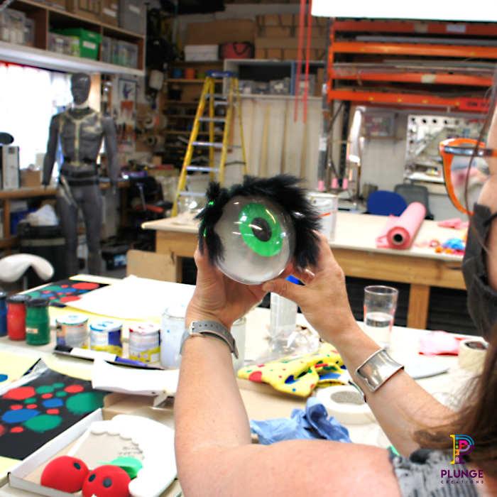 Mr-Blobby-costume-maker-eyeball