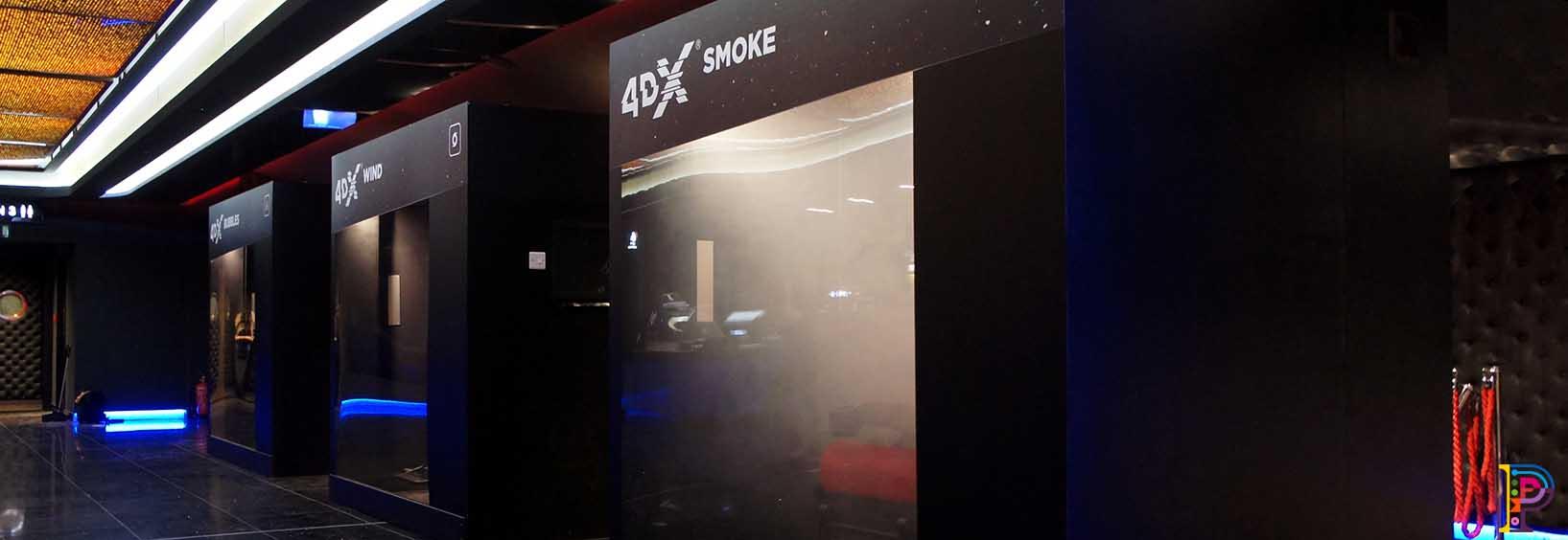 4D sensorial booths
