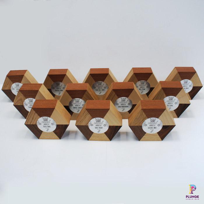 Wooden award fabricator and designer