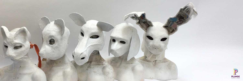 Pet Cometary Animal Mask Costumes
