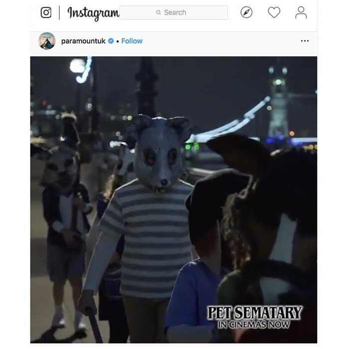Pet Cemetary Animal Mask