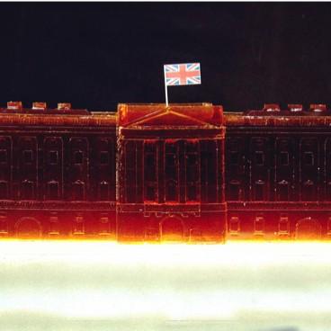 Buckingham Palace Jelly Sculpture