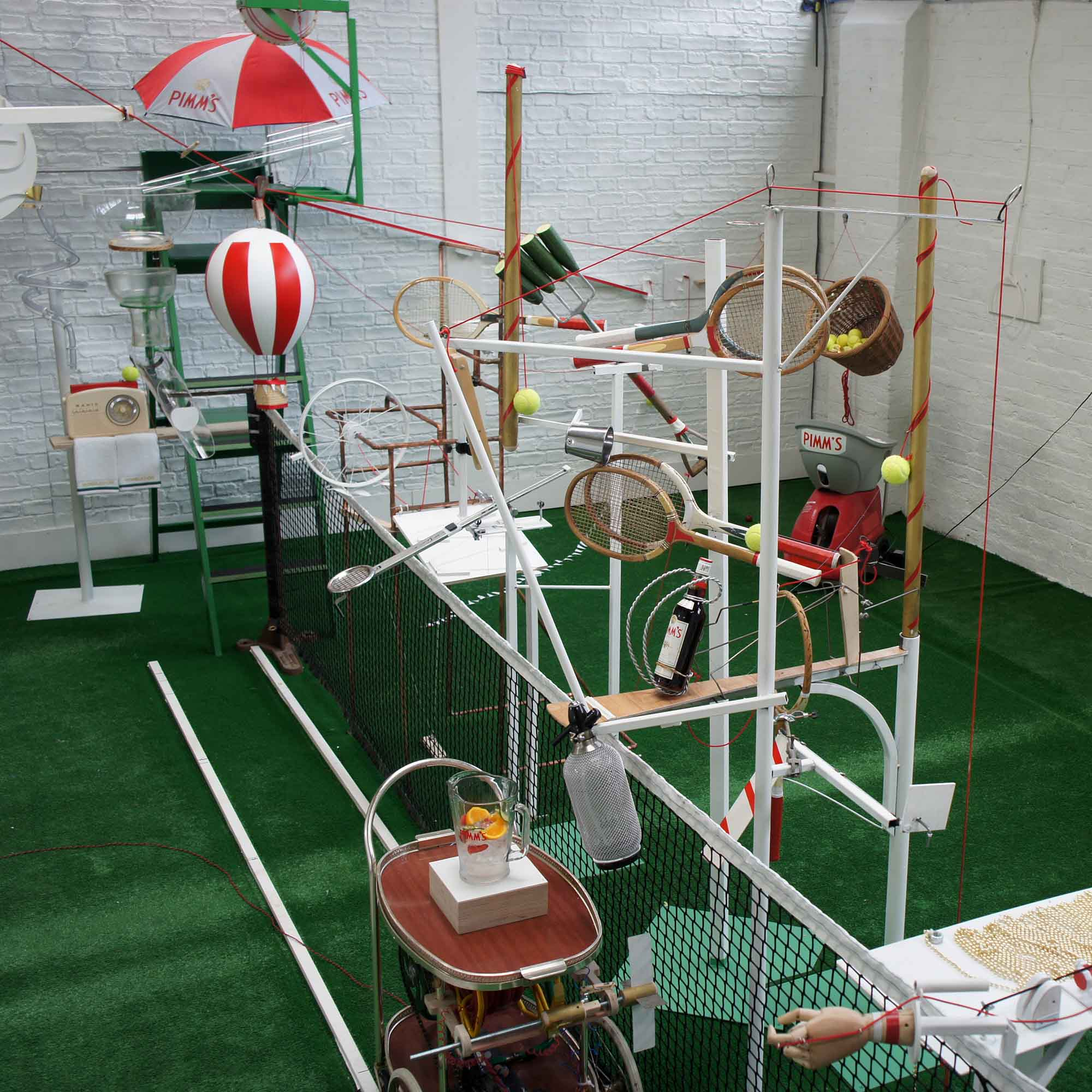 Rube Goldberg Machine for Pimms