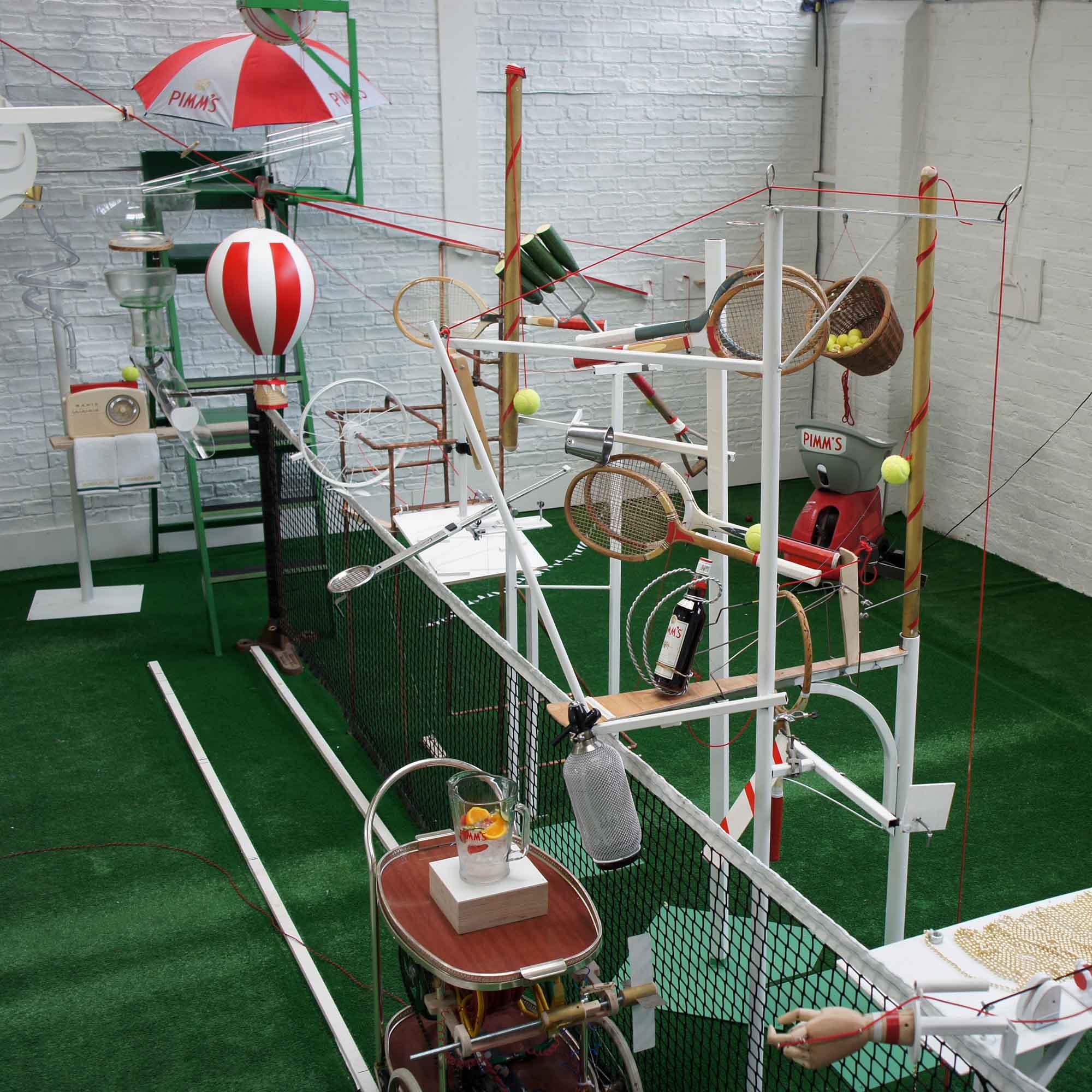 Rube Goldberg Machine for Pimms