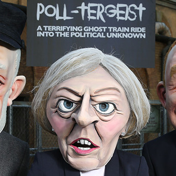 Political Caricature Costume Heads
