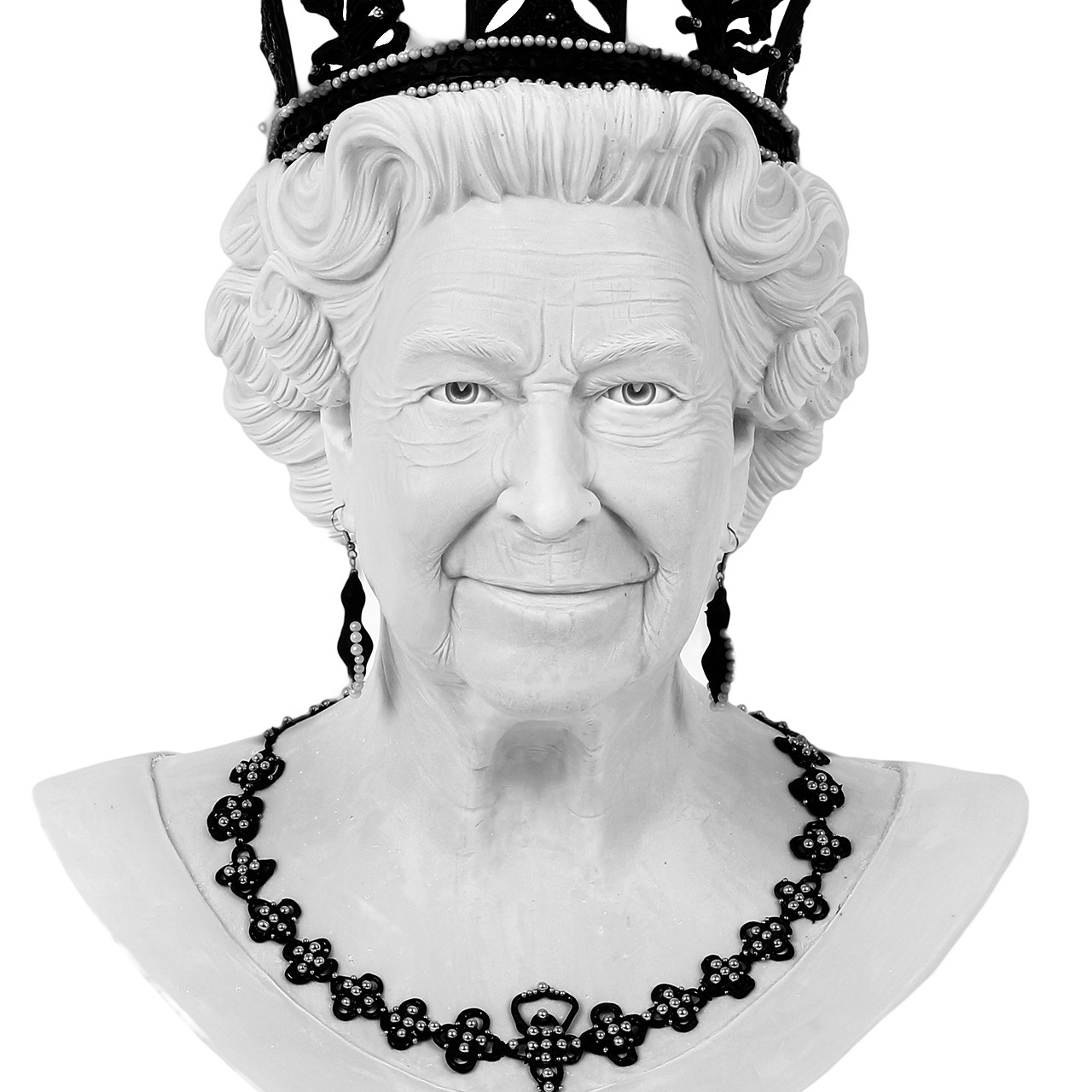 Queen Elizabeth II Sculpture