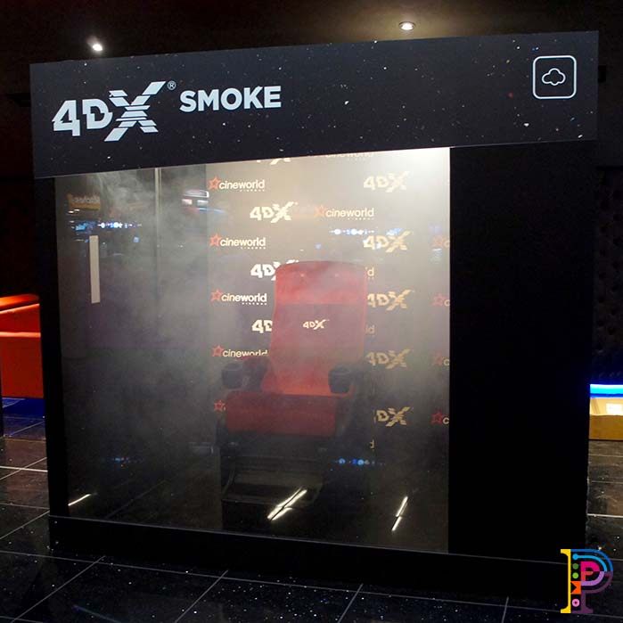 4DX Experiential sensorial booths
