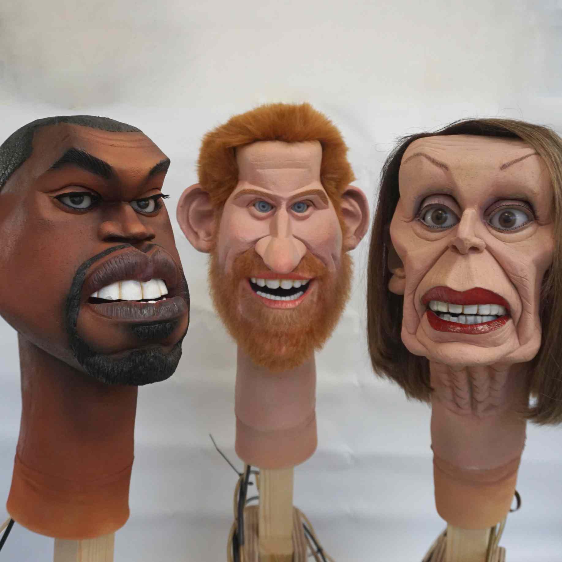 Puppet head Spitting Image