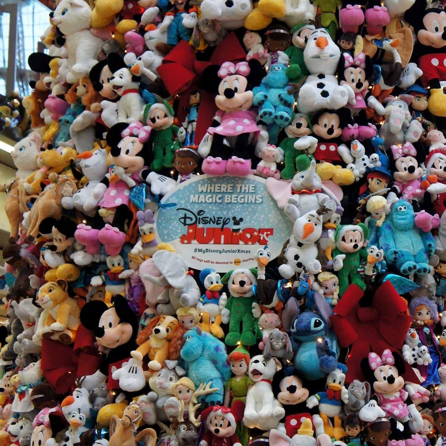 St Pancras Disney Christmas Tree