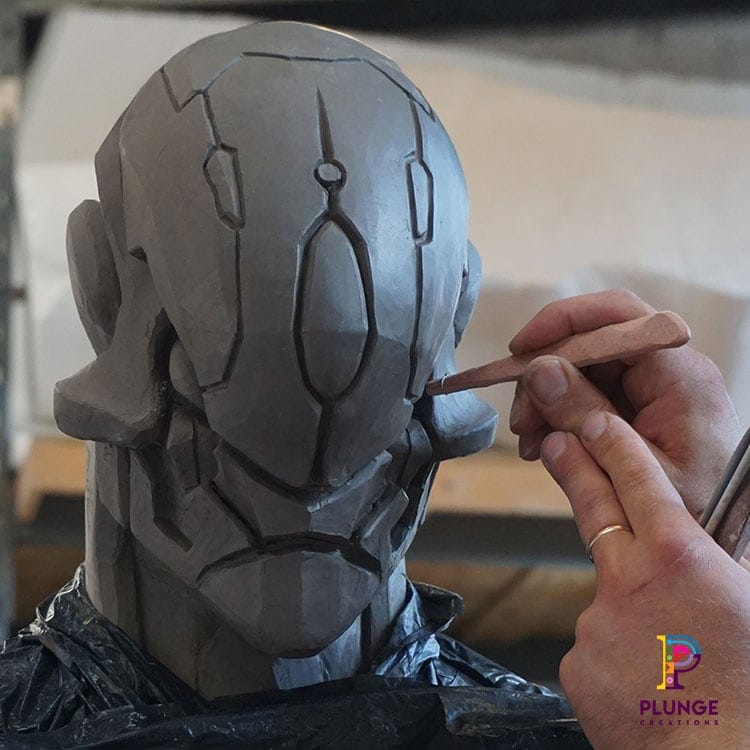3D sculpture Strife