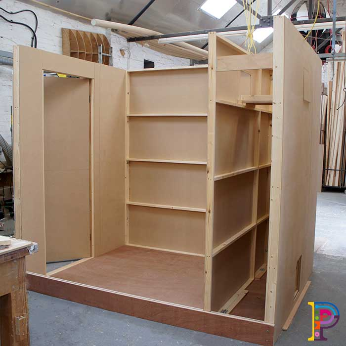 Timber Sensory Booths