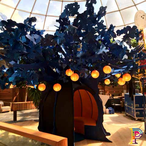 Blue Moon Wishing Tree Sculpture