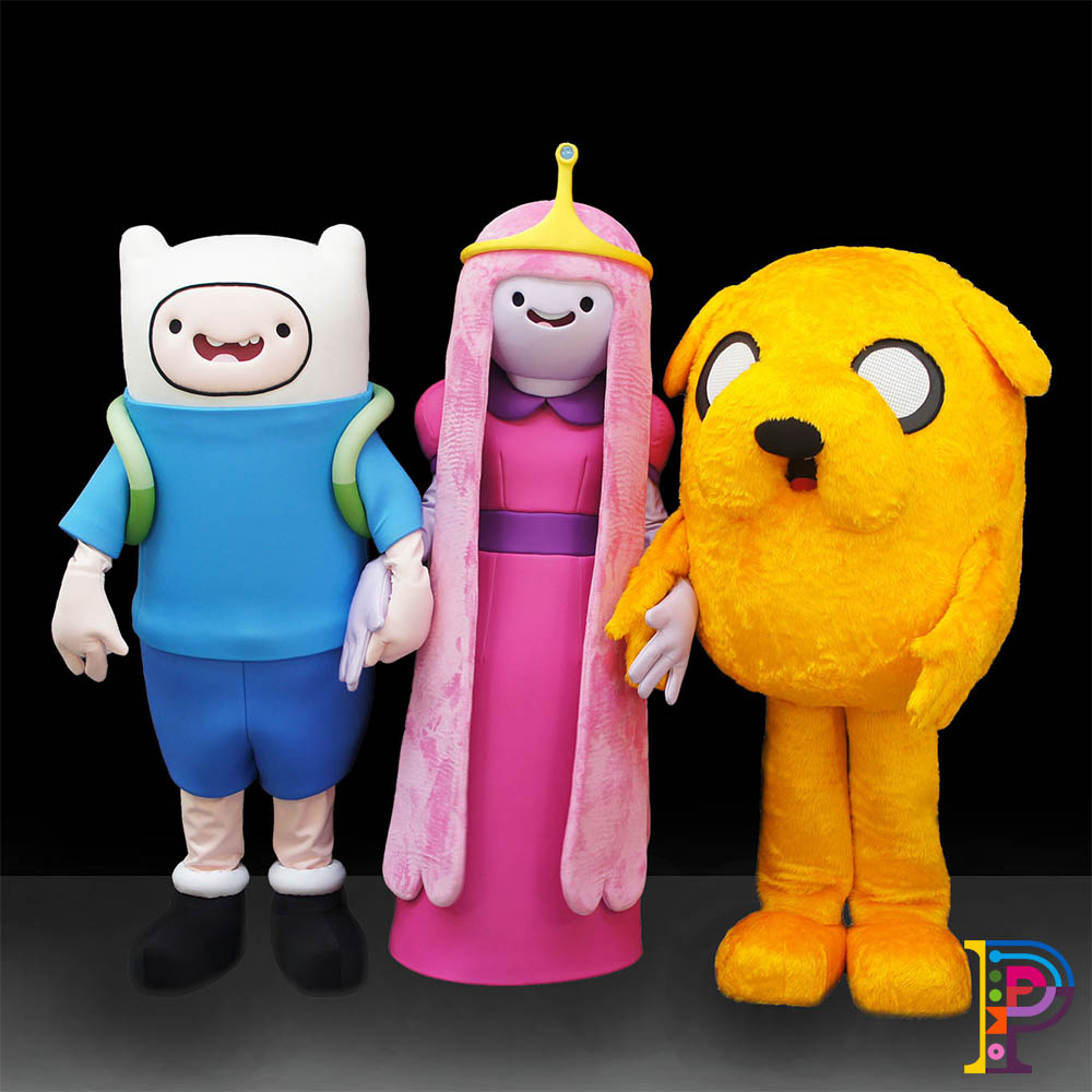 Cartoon Network Costumes and puppets