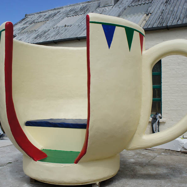 Giant Tea Cup Seat for Festival booth