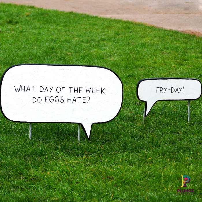 Kew Beano Eggs Joke outdoor props