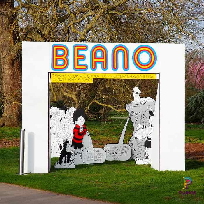 Kew Beano Comic Birthday Picnic outdoor props