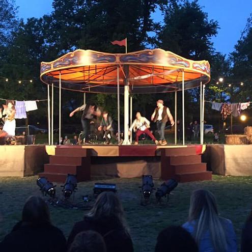 Revolving Dance Carousel