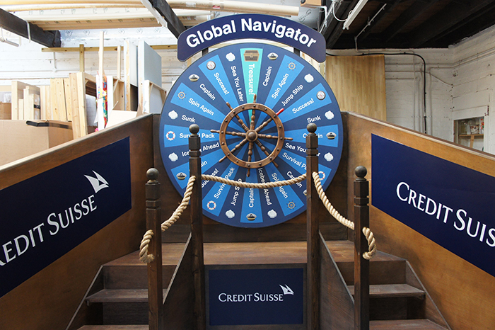 Big Choice Nautical Themed Wheel Of Fortune Plunge