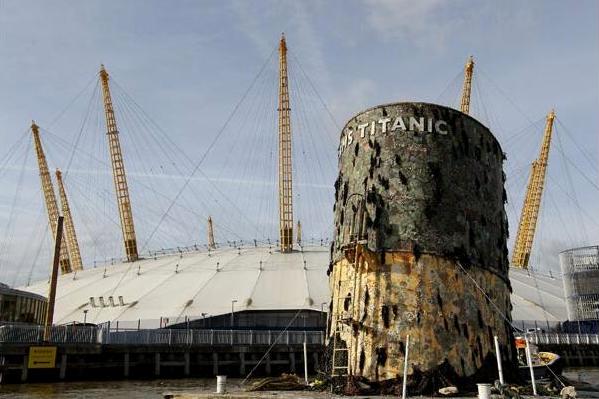 Sml Replica Titanic Funnel Plunge Creations